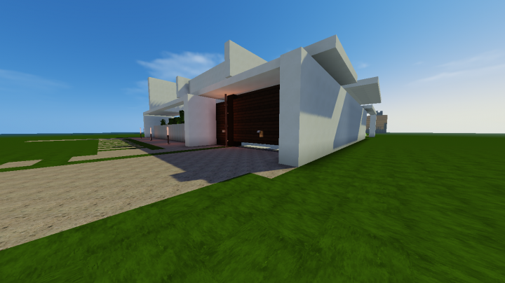 Modern House Inspired By Keralis Minecraft Project