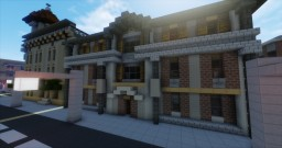 1960's 3 Story apartment/store (Greenfield) Minecraft Map & Project