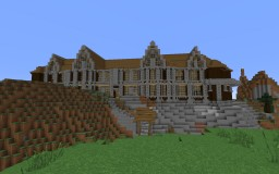 HillTop Mansion Minecraft Map & Project