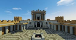 Herod's Temple of Jerusalem Minecraft Map & Project