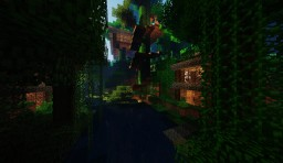 Jungle Village [everyting decorated on the inside] Minecraft Map & Project