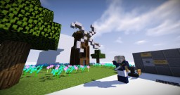 WORKING Windmill Wings! [Video] | Redstone creation | Download link Minecraft