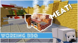Minecraft - How To Make A Working BBQ Minecraft