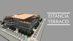 Estancia Terraces ▬ Modern Mall Minecraft Map & Project