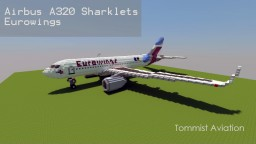 Airbus A320 Sharklets - Eurowings [+Download] Minecraft Project