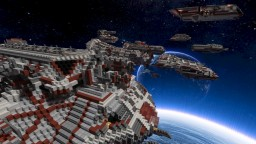 Federation of Extraplanetary Nations warships Minecraft Map & Project