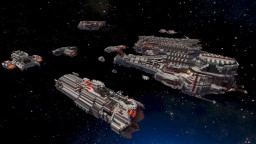 Federation of Extraplanetary Nations spaceships Minecraft Map & Project