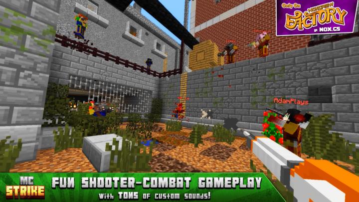 Fun Shooter-Combat Gameplay with TONS of custom sounds!