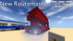 New Routemaster Bus Minecraft Project