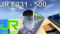 JR Yamanote & Chuo Sobu E231-500 series commuter train Minecraft Map & Project