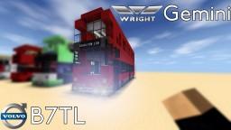 Wright Gemini Volvo B7TL Minecraft Map & Project