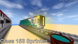 Class 153 Sprinter Minecraft Map & Project