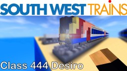 Class 444 Desiro Minecraft Map & Project