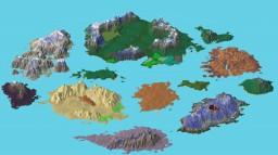 Kingdom of Orchera (custom terrain) *World download fixed* Minecraft