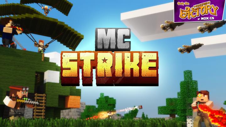MCStrike Minecraft Gun Server Now On Noxcrew Factory Minecraft - Minecraft spiele server deutsch