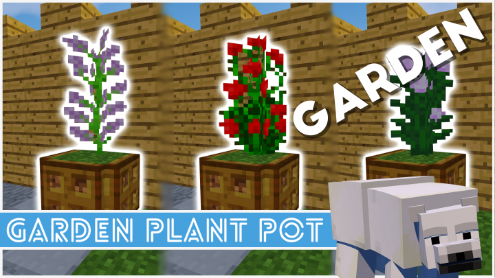 Minecraft - How To Make A Plant Pot Minecraft Project