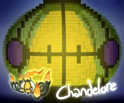 Shiny Chandelure Minecraft Map & Project