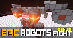 EPIC ROBOTS FIGHT MAP IN MINECRAFT