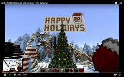 Minecraft Redstone Christmas Tree Tutorial Minecraft Map & Project