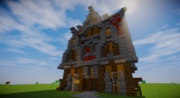 Medieval Shop (Royal edition) Minecraft Map & Project