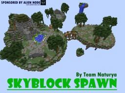Skyblock Spawn by Team Naturya Minecraft