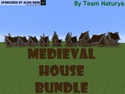Medieval House Bundle - Team Naturya [Download] Minecraft Map & Project