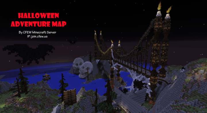 Halloween Adventure.Halloween Adventure Map Minecraft Project