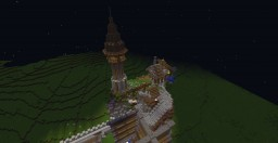 Infernal Realms: Town builds Minecraft Project