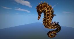 Minecraft- Organic Seahorse Build Minecraft