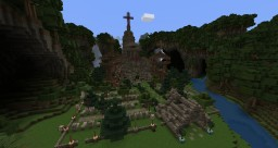 Church + Cemetery Minecraft Project