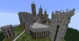 Epic Castle With Underground System Minecraft Map & Project