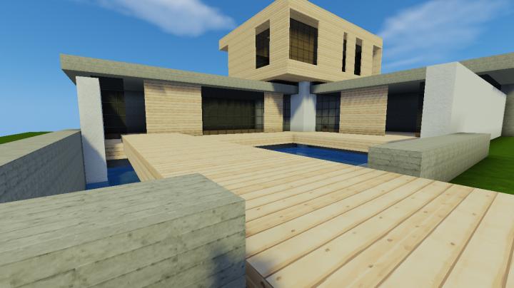 Petite Maison Moderne Minecraft Project