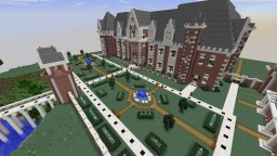 French Chateau Castle Minecraft Project