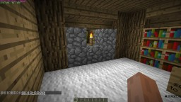 A survival House With Underground Base Minecraft Map & Project