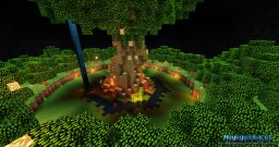 Landscaping BigTree Minecraft Project