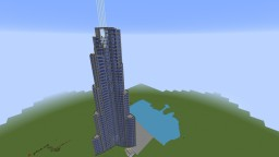 Burj Khalifa Dubai Minecraft Map & Project
