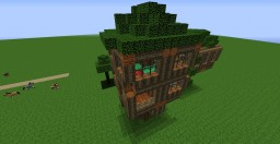 DarkWolffeA4's First Treehouse Minecraft Project