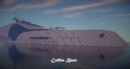 Coffee Bean superyacht Minecraft Map & Project