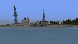 Naval Refueling Ship Minecraft Map & Project