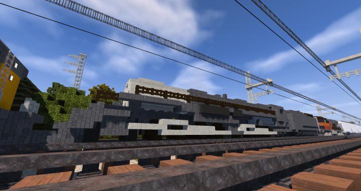 Union Pacific Big Boy | TRS Minecraft Project