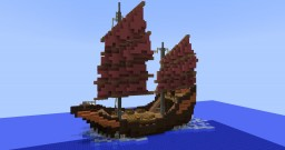 Small Imperial Junk - Kapal Minecraft Project