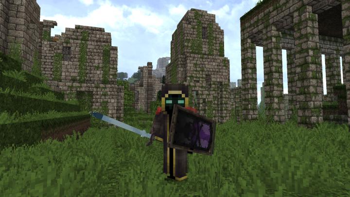 Ancient Dark Elven City Ruins