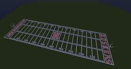 Nebraska Cornhuskers Memorial Stadium Minecraft Map & Project