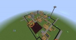 Village Hunger Games Minecraft Project