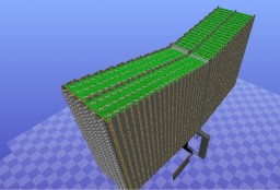 400k potato farm Minecraft Project