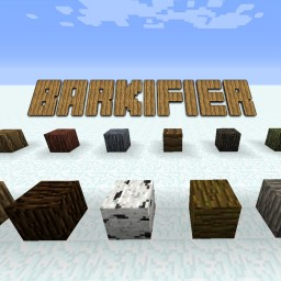 [1.7.10 - 1.11.2] Barkifier - Create six sided Bark Logs in Survival! Minecraft Mod