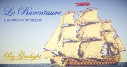 Le Bucentaure | A 80-gun ship of the line Minecraft Map & Project