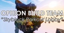 Ophion's Skyblock Parkour Lobby Minecraft Project