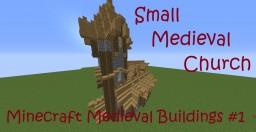 Minecraft Medieval Chruch Minecraft Project