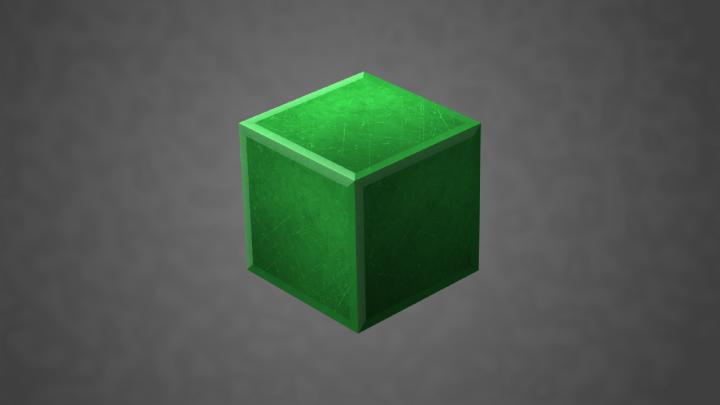 Fantasy Emerald Block